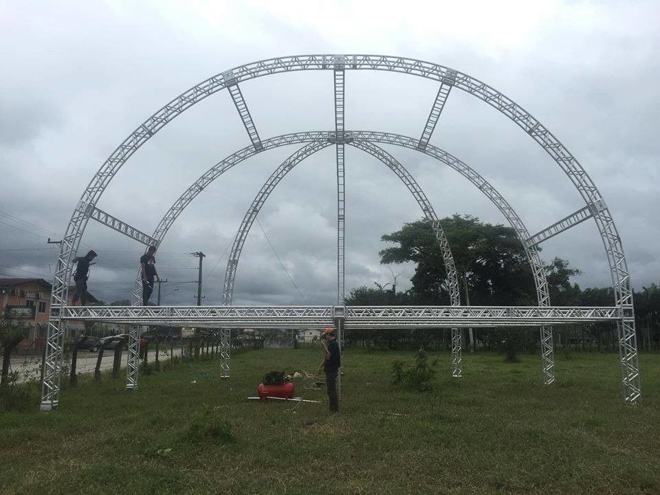 16m Span Outdoor Aluminum  Stage  Truss For Concert Truss , Corrosion Resistance