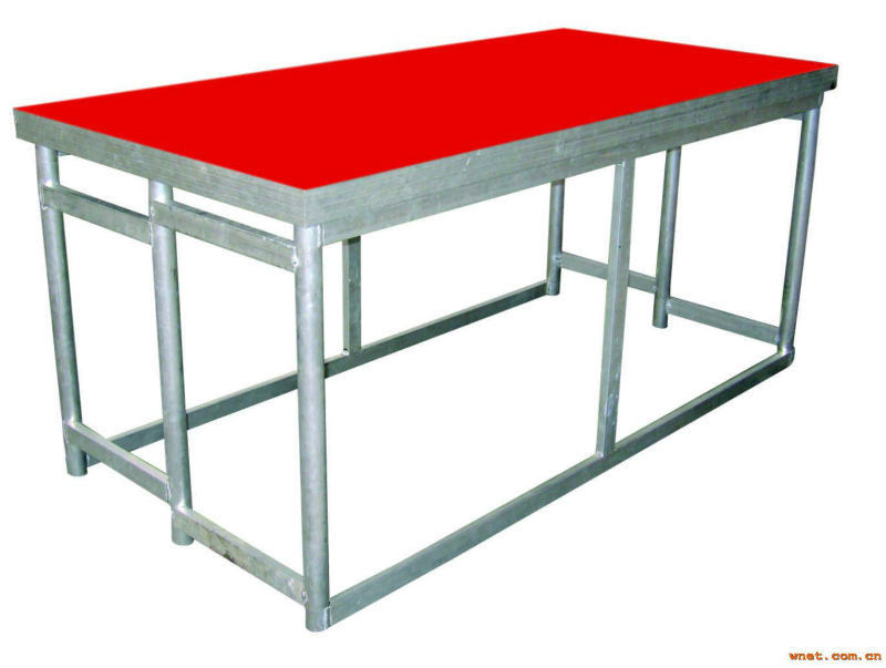 Catwalk Portable Stage Platforms / Aluminum Folding Stage With 18mm Plywood