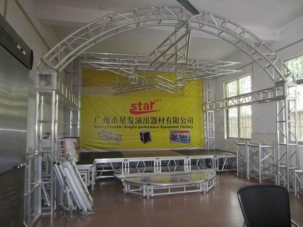 aluminum stage truss / aluminum truss for indoor concert