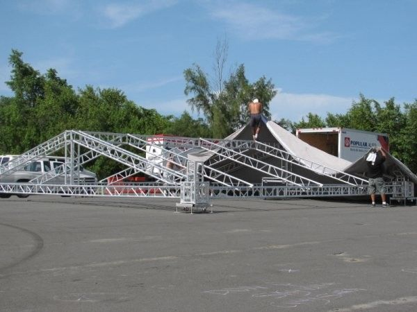 Alloy Aluminum Stage Lighting Truss For Abnormity Concert Truss