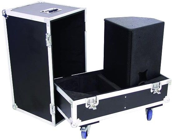 Big Events Used Aluminum Road Cases , Transportation Tool Box Plywood Customized Size