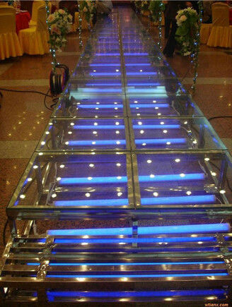 Acrylic Wedding Stage / Acrylic Platform Stage / Swimming Pool Glass Stage