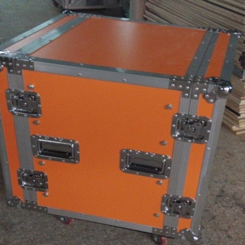 Plywood Custom Flight Cases , Dj Flight Case Mobile Display Case